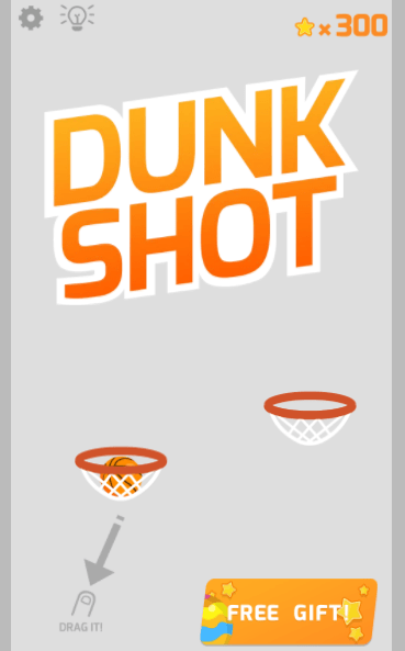 arcade dunk shot game