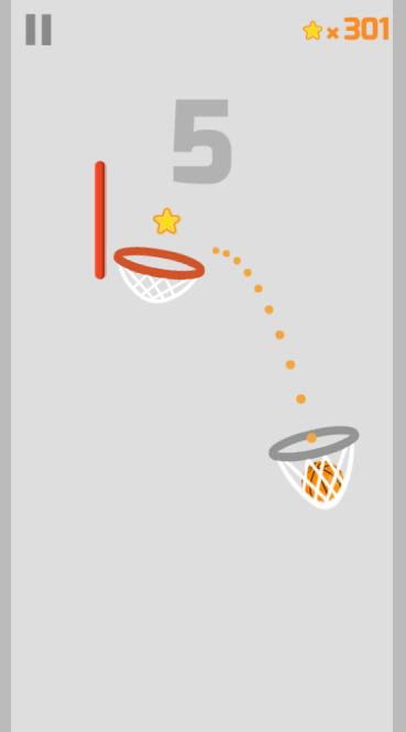 html5 basketball game