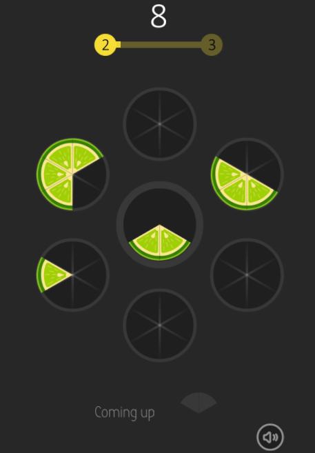 html5 Slice game