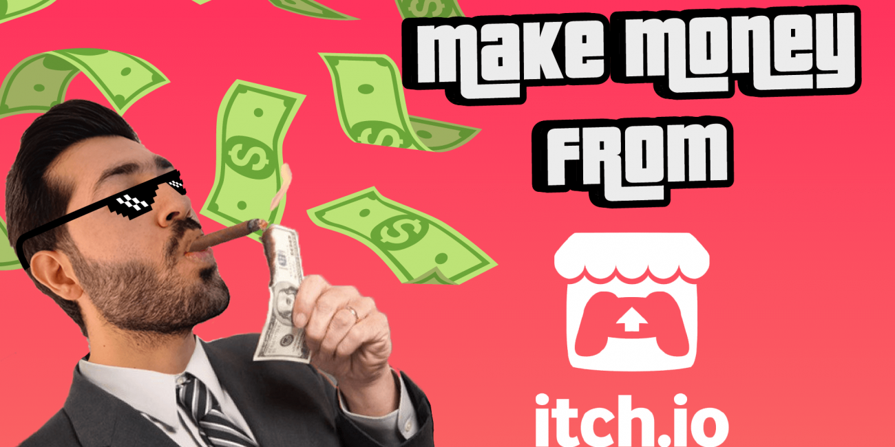 how to make money from itch.io